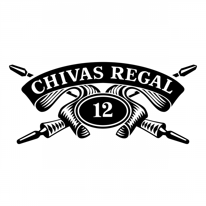 Chivas Regal logo black