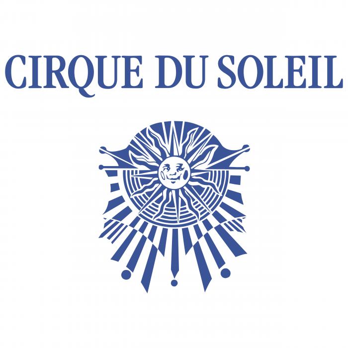 Cirque du Soleil logo blue