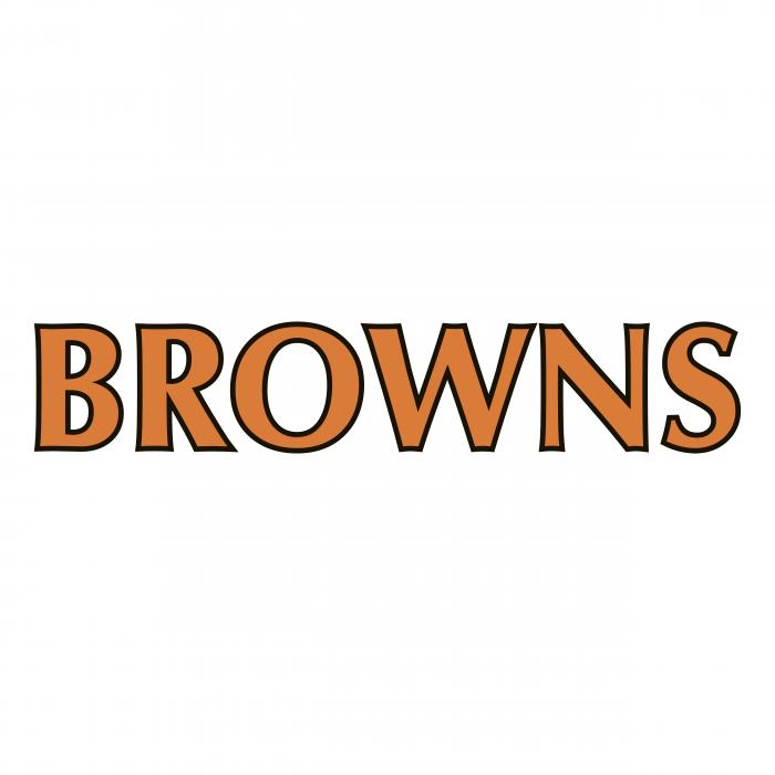 Cleveland Browns logo brown