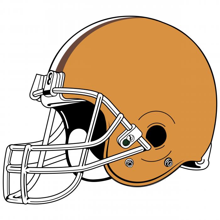 Cleveland Browns logo helm