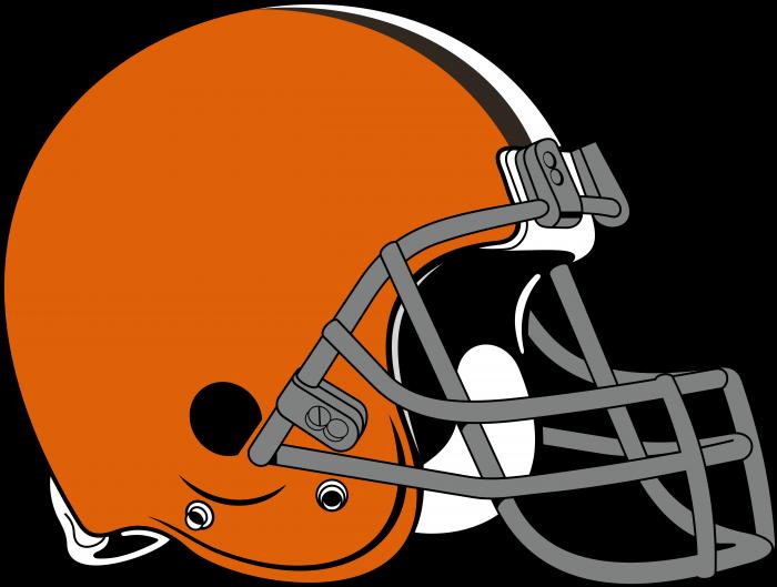 Cleveland Browns logo helmet