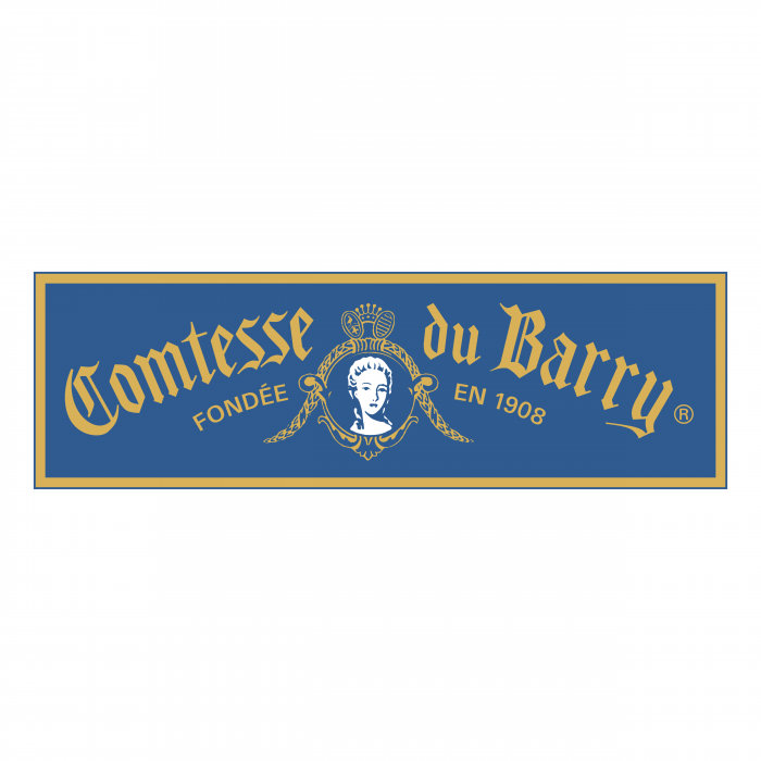 Comtesse du Barry logo blue