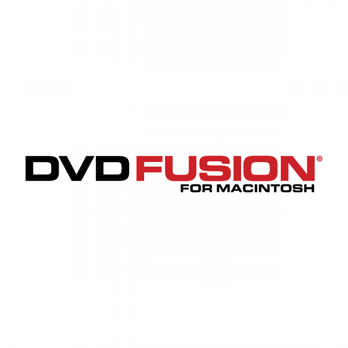 DVD Fusion for Macintosh logo red