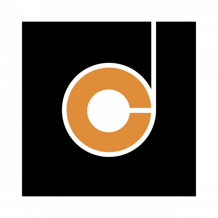 Drukkerij de Canck logo orange