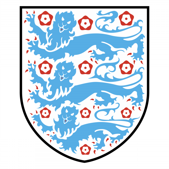 England Football Association logo blue