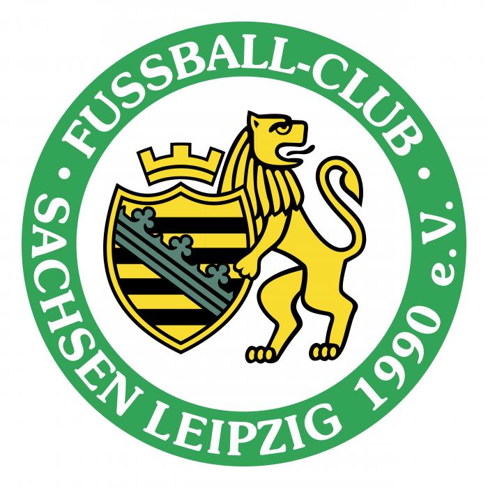 FC Saschen Leipzig logo green