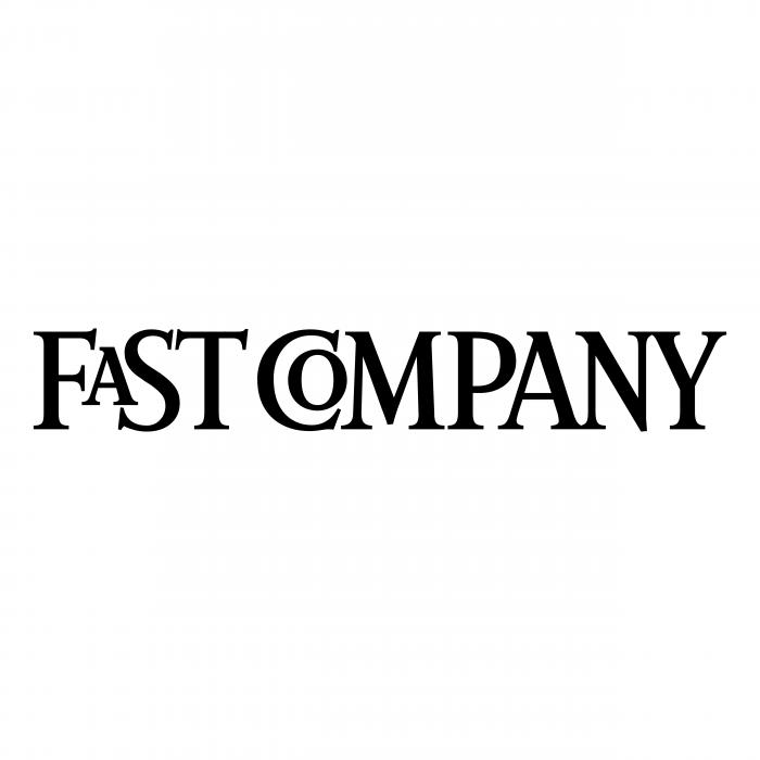 Fast Company logo black