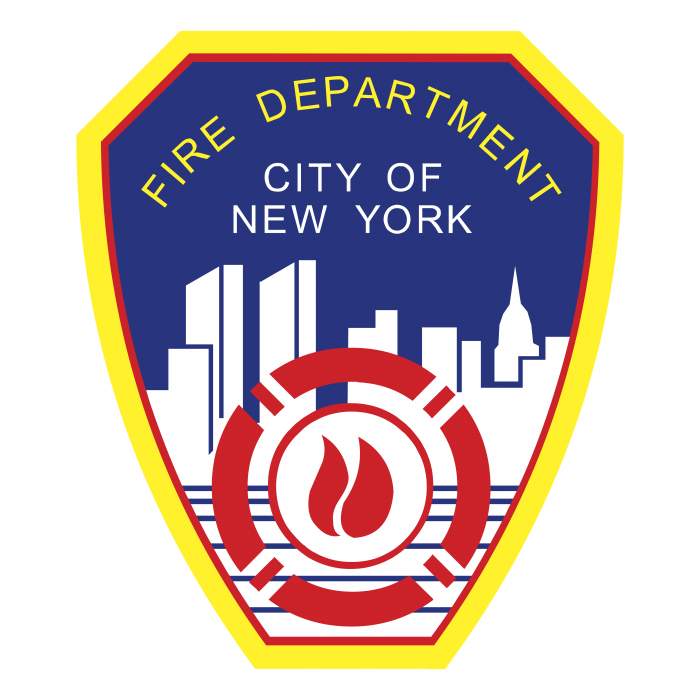 Fire Department City of New York logo colored