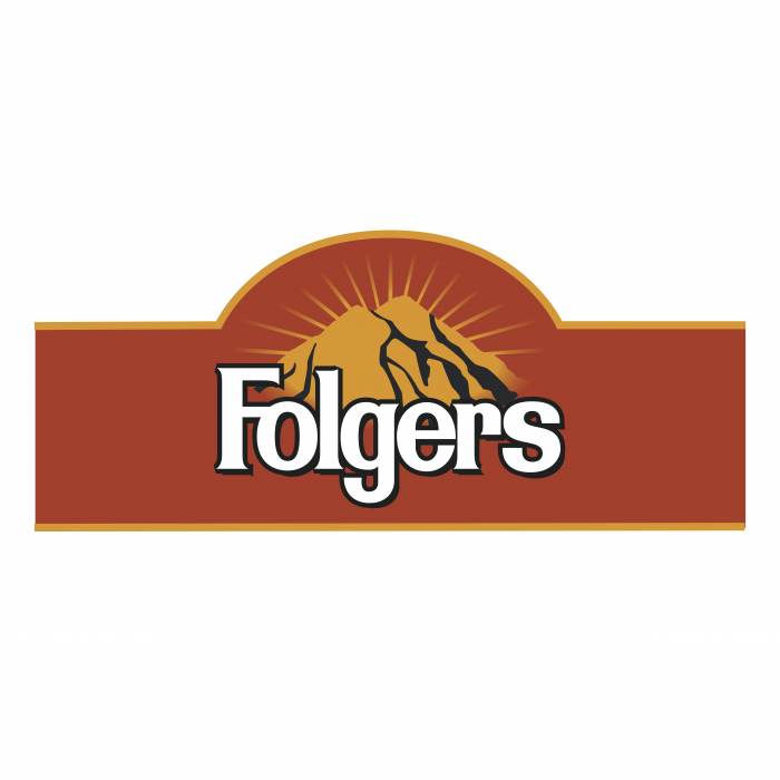 Folgers logo red