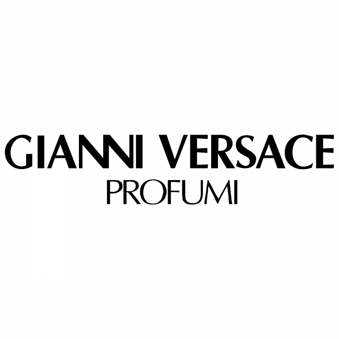 Gianni Versace logo black