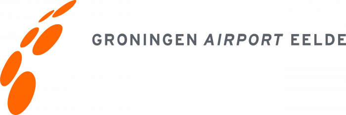 Groningen Airport logo orange