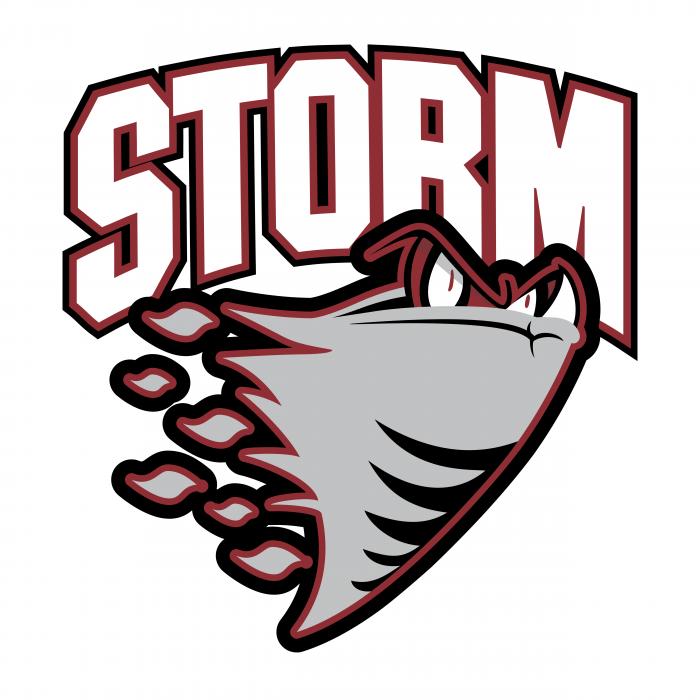 Guelph Storm logo grey