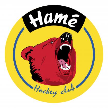 Hame Hockey Club logo yellow