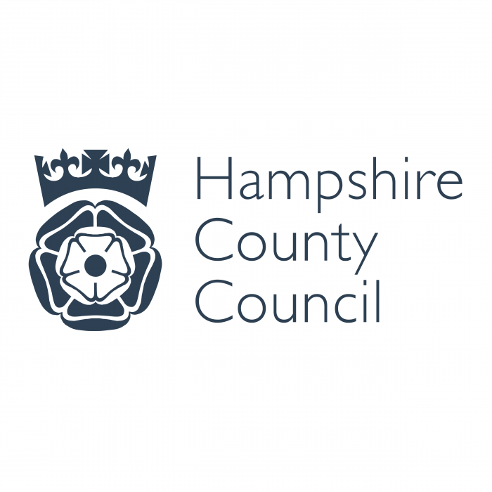 Hampshire County Council logo black