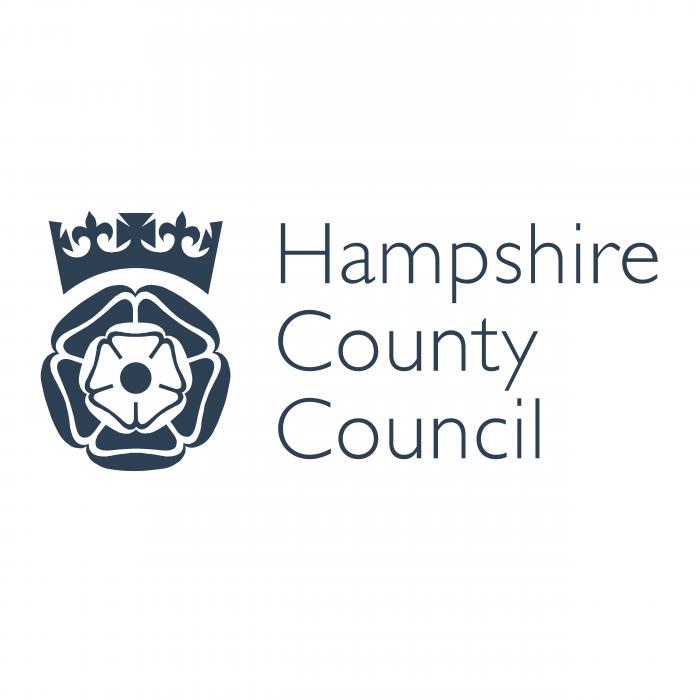 Hampshire County Council logo black