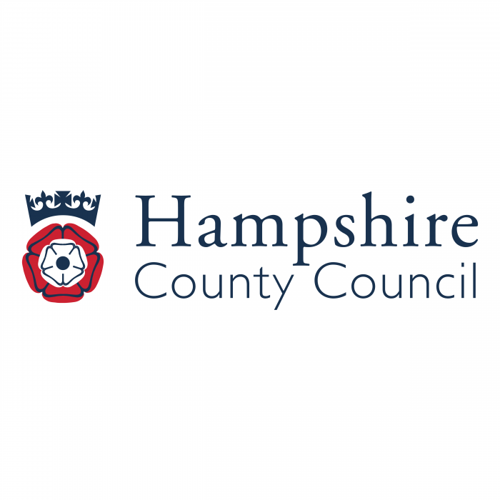 Hampshire County Council logo red