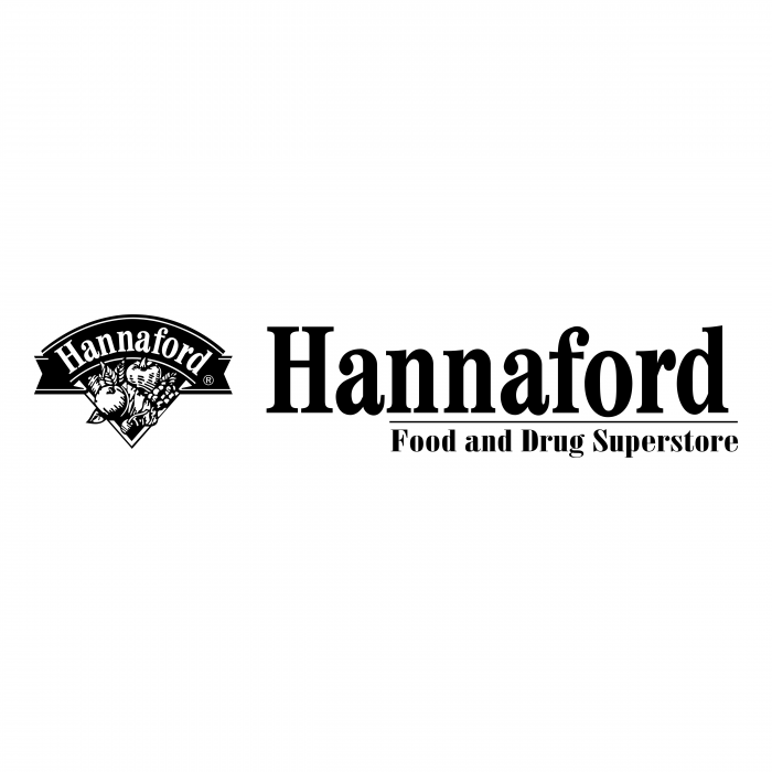Hannaford logo black
