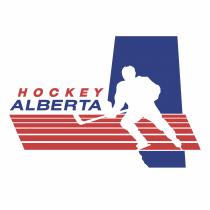 Hockey Alberta logo red