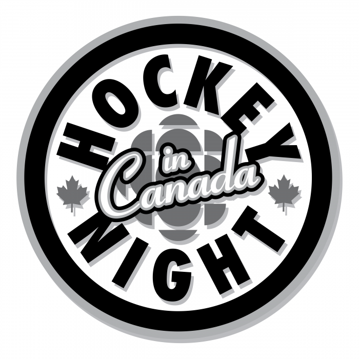 Hockey Night in Canada logo black