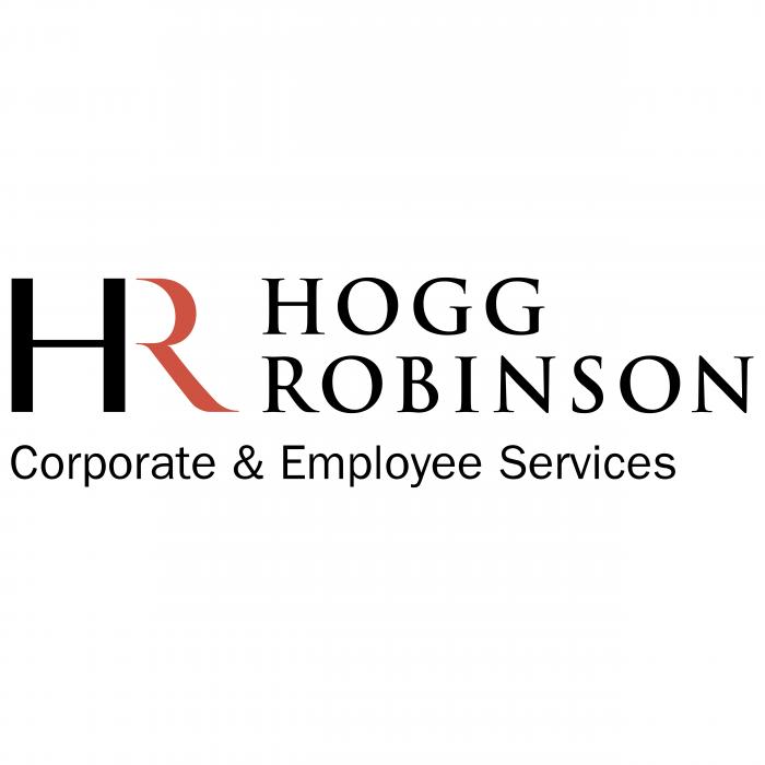 Hogg Robinson logo black