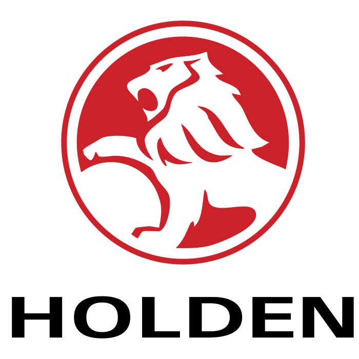 Holden logo red