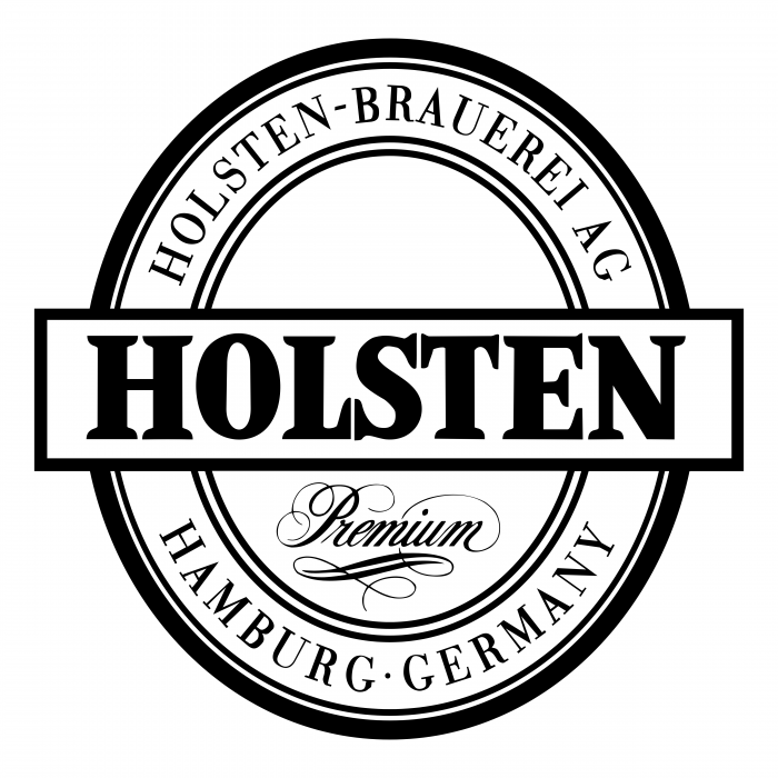 Holsten logo white