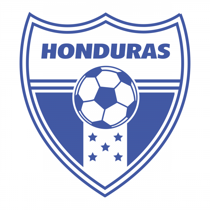 Honduras Football Association logo blue