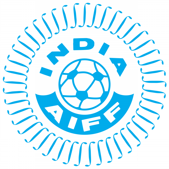 India Football Federation logo blue