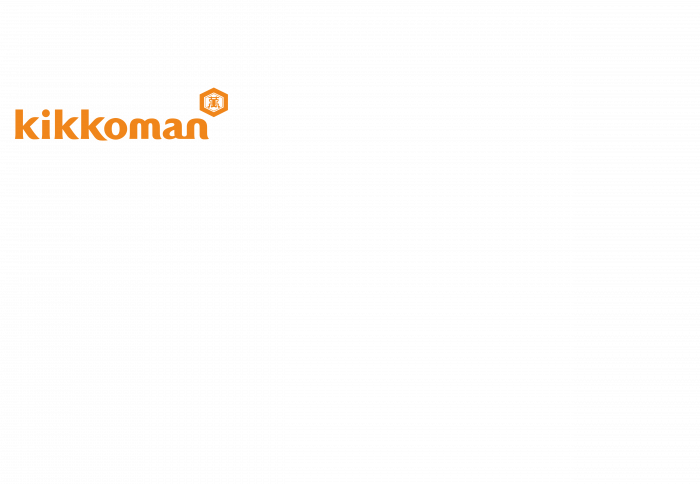 Kikkoman logo orange