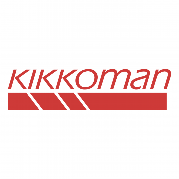 Kikkoman logo red