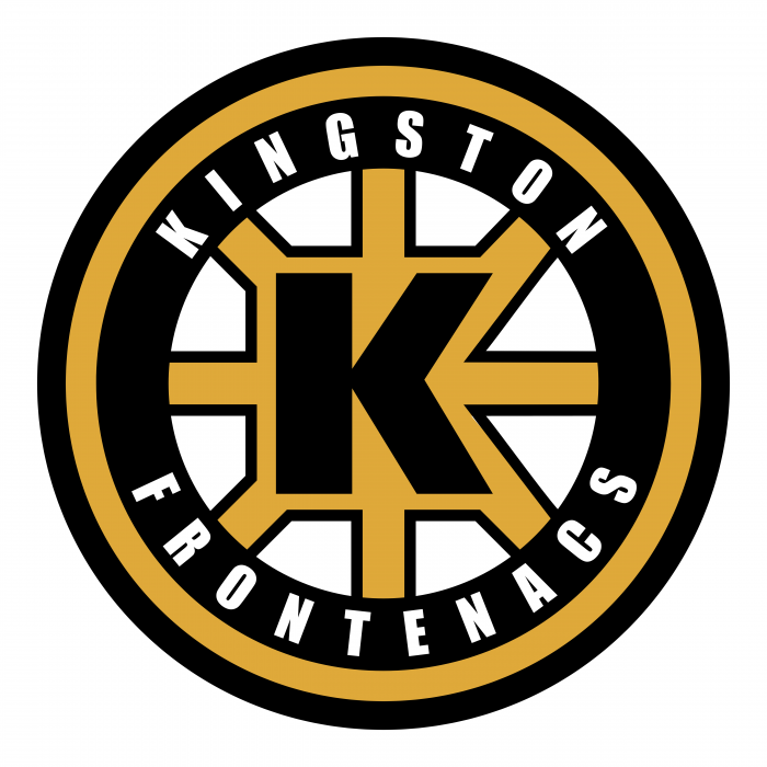 Kingston frontenacs logo back