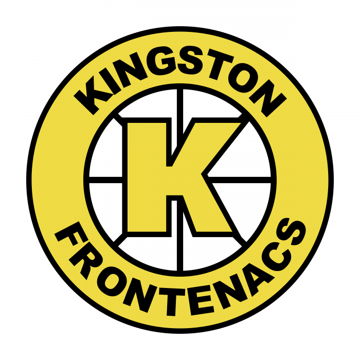 Kingston frontenacs logo yellow