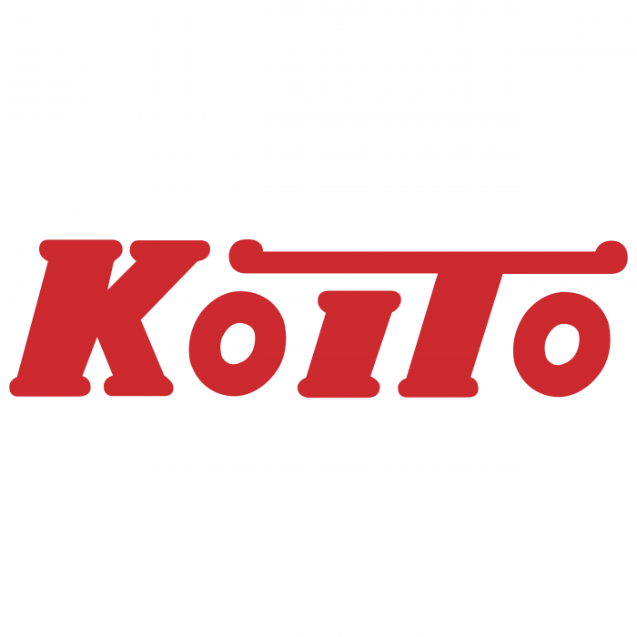 Koito logo red