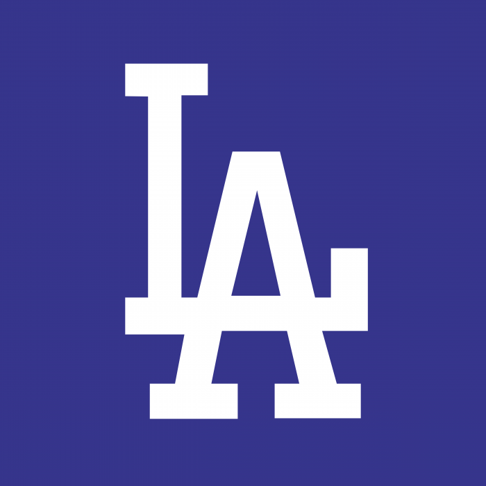 Los Angeles Dodgers logo LA