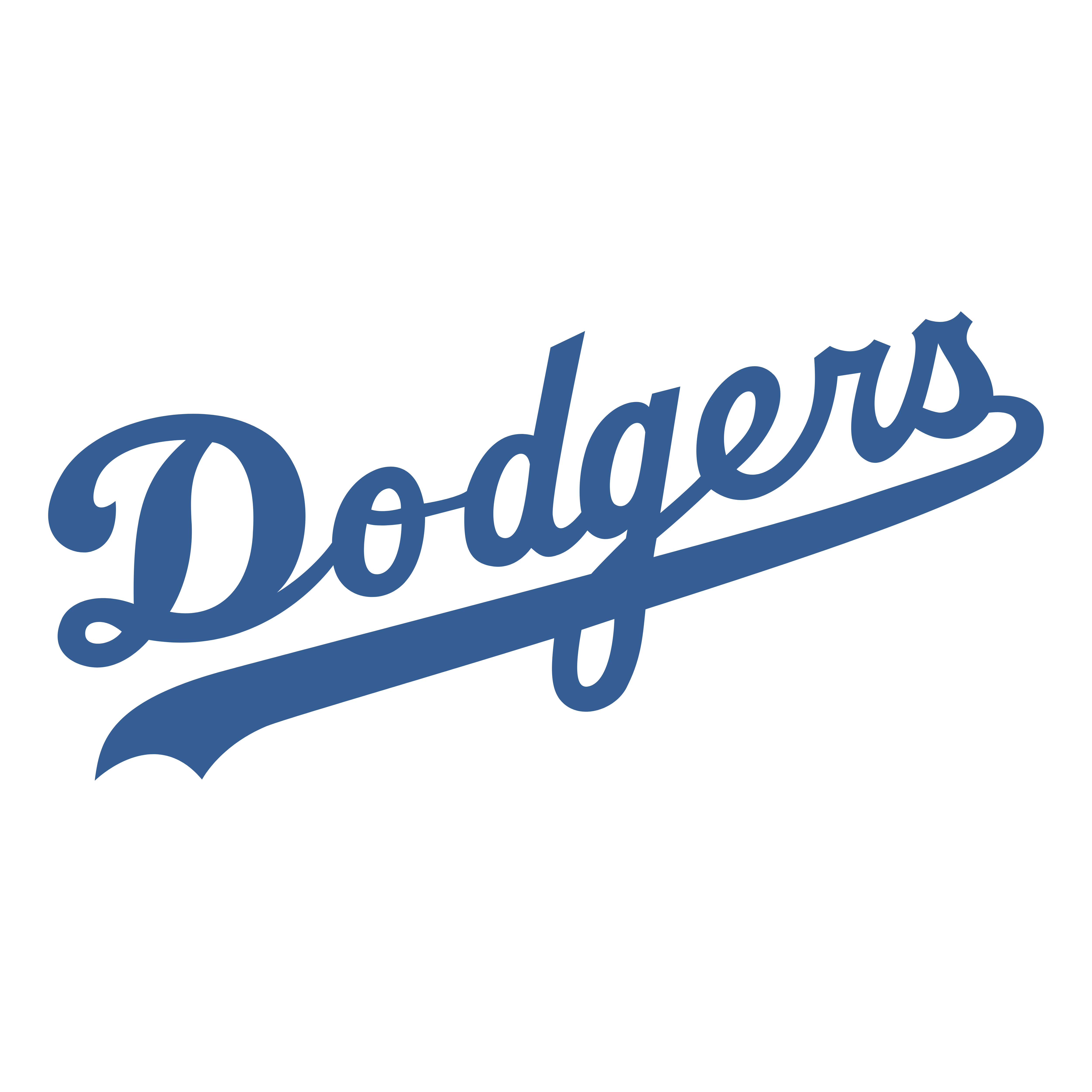 los angeles dodgers logos