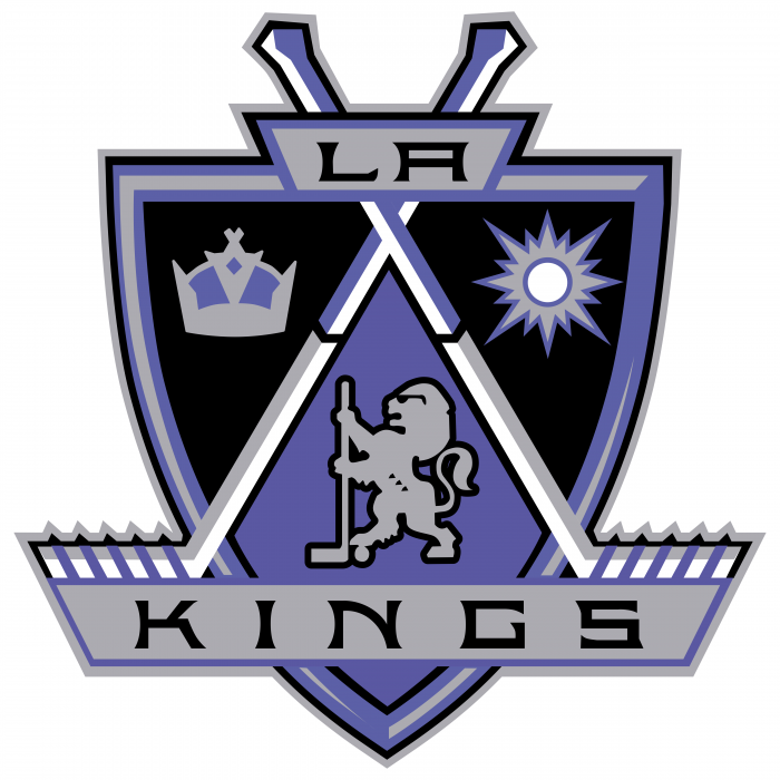 Los Angeles Kings logo LA