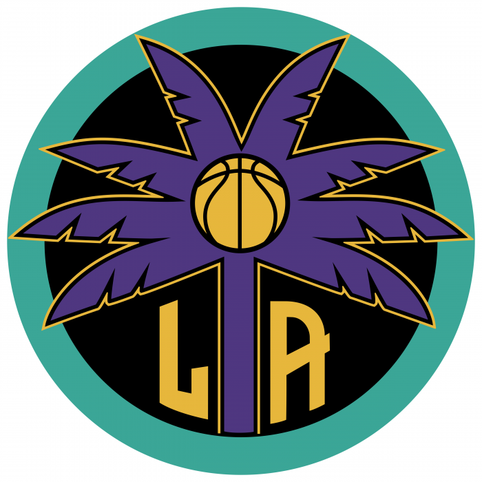 Los Angeles Sparks logo colored