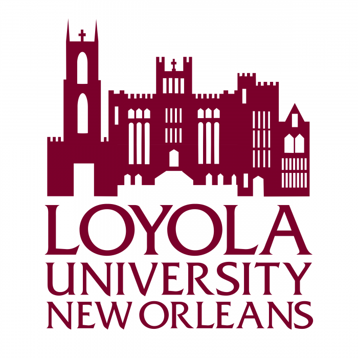 Loyola University New Orleans logo red