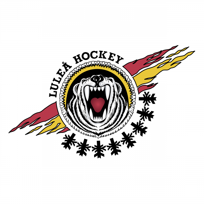 Lulea Hockey logo colored