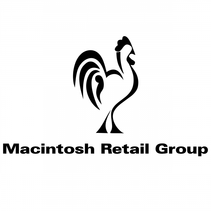 Macintosh Retail Group logo black