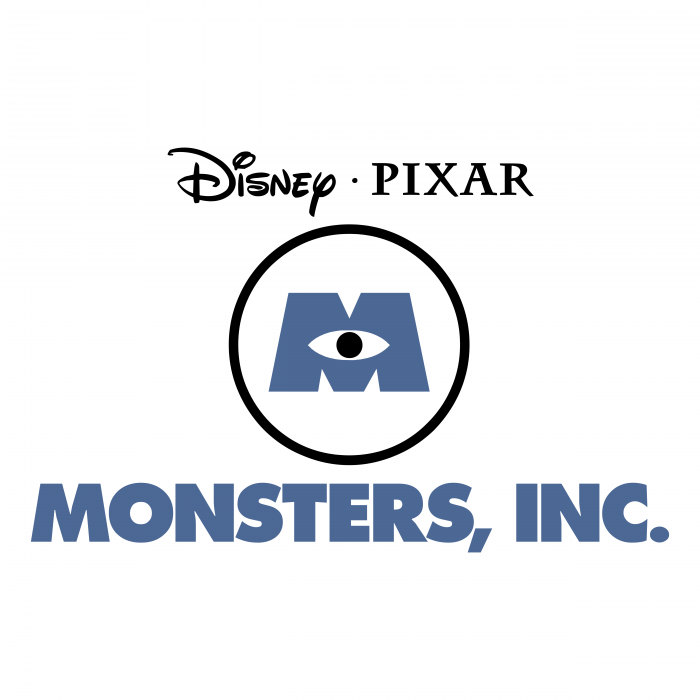 Monsters Inc logo pixar