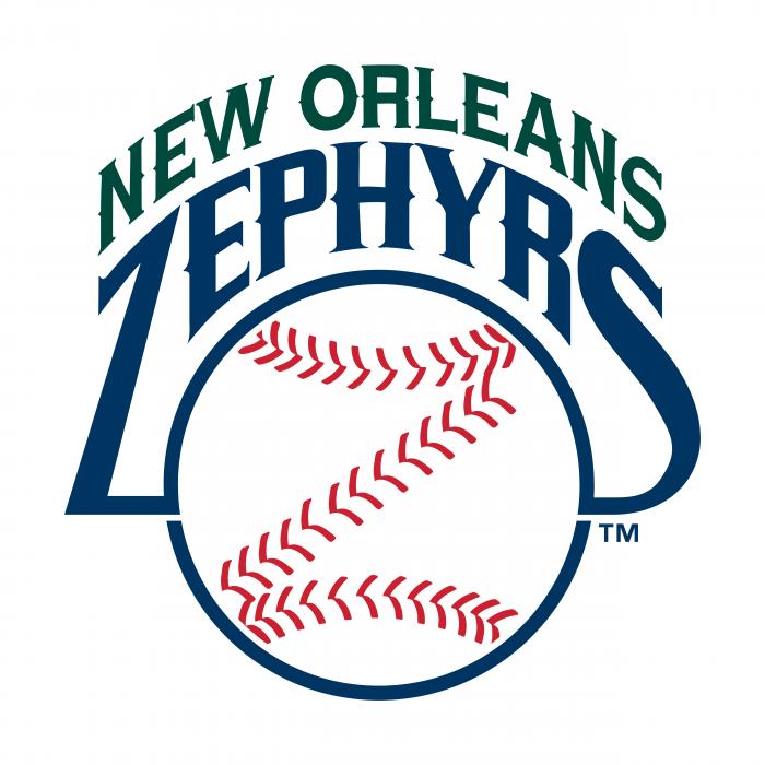 New Orleans Zephyrs logo TM
