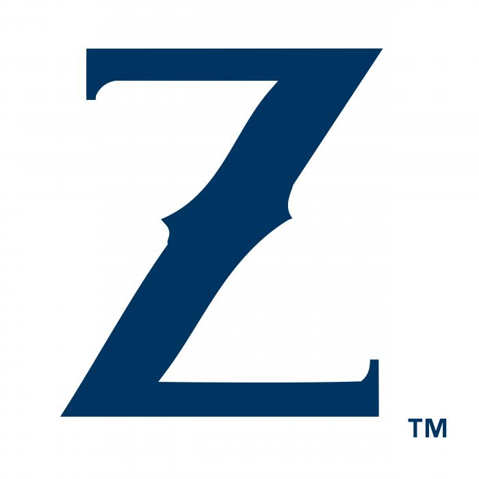 New Orleans Zephyrs logo blue