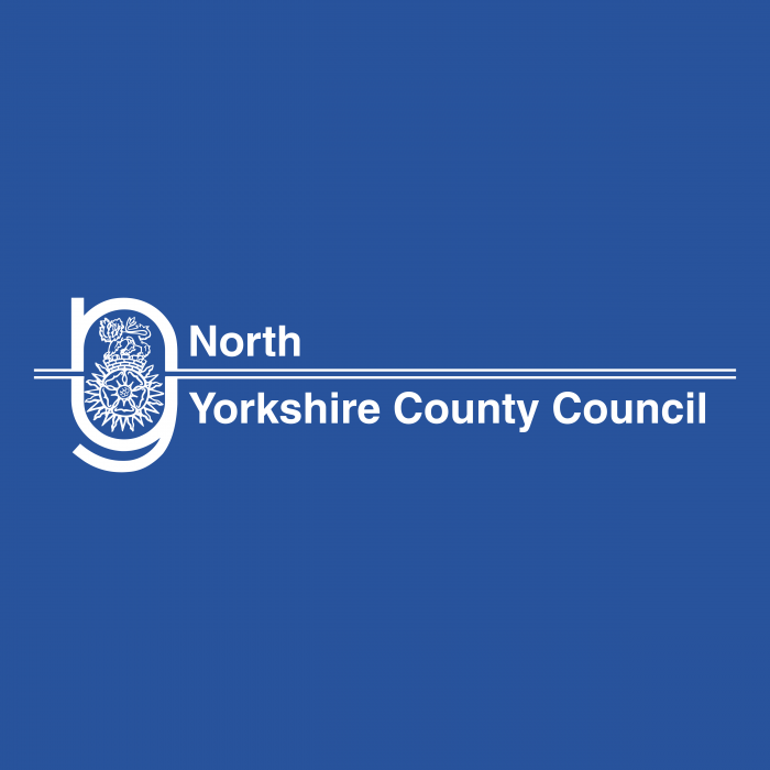 North Yorkshire County Council logo cube