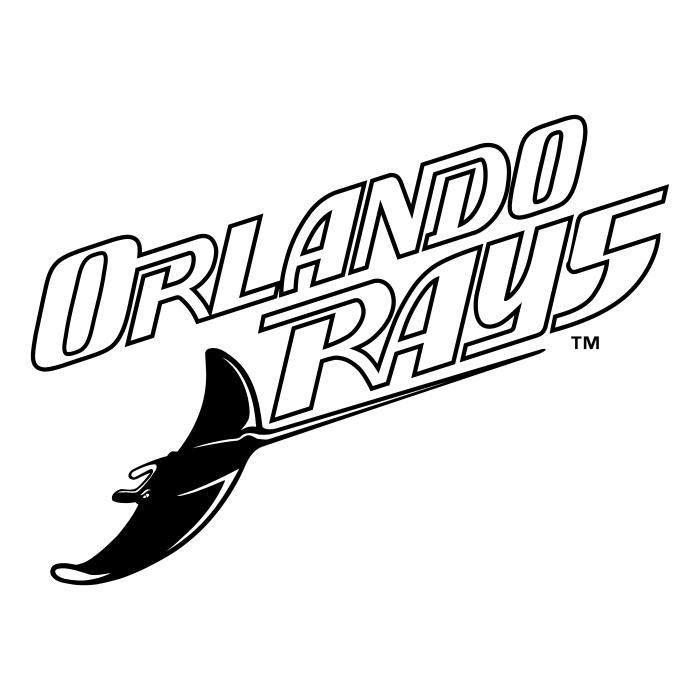 Orlando Rays logo white
