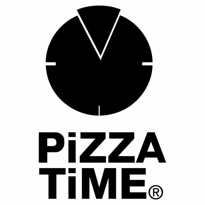 Pizza Time logo black