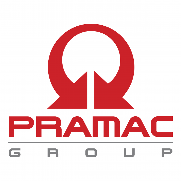 Pramac Group logo red