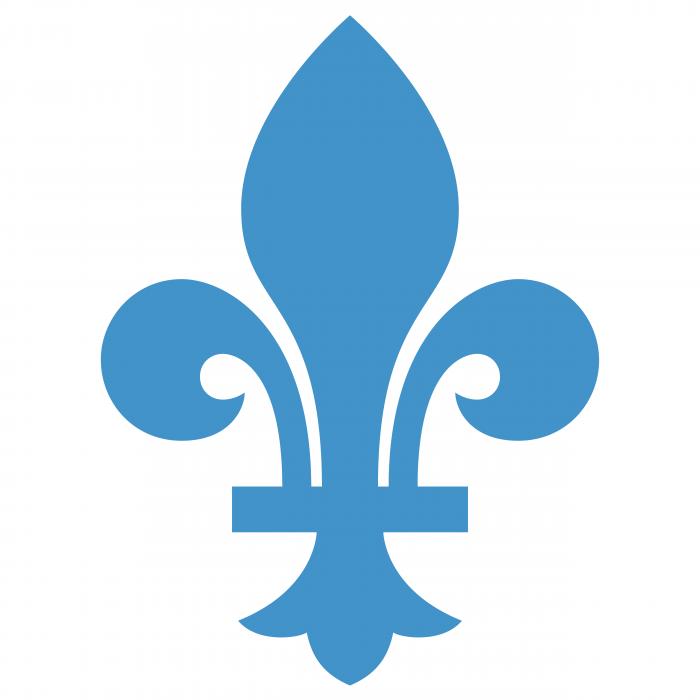 Quebec logo lily