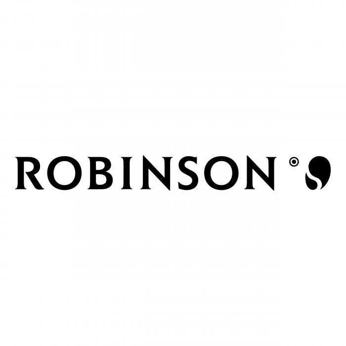 Robinson logo black