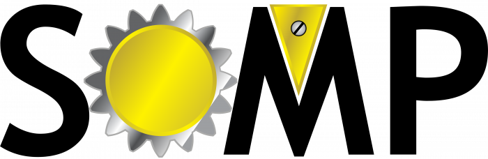 SOMP logo yellow